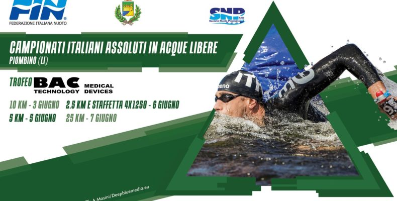 Trofeo Bac Technology ai Campionati Assoluti in Acque Libere 2019