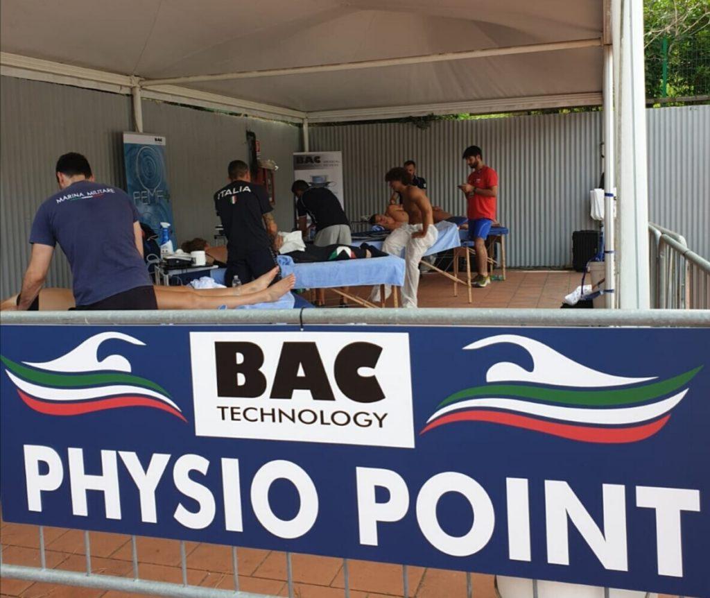 Physio Point BAC Technology alla 56^ Settecolli - Internazionali di nuoto 1
