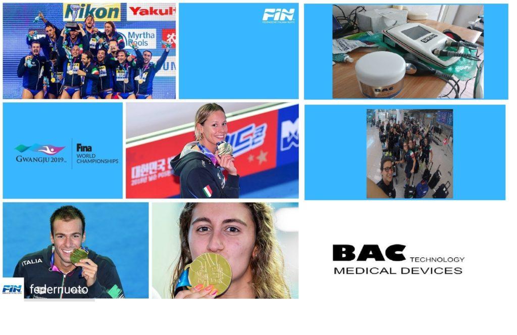 Quanti successi a Gwangju - Mondiali di Nuoto! Orgogliosi di essere a fianco degli atleti 1