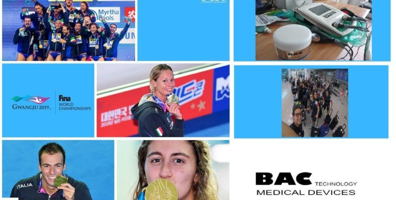Quanti successi a Gwangju - Mondiali di Nuoto! Orgogliosi di essere a fianco degli atleti