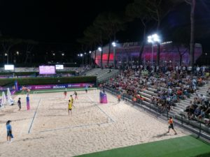 Physio Point BAC Technology ai Mondiali di Beach Volley - Roma, 4-8 settembre 11