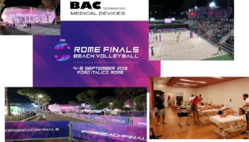 Physio Point BAC Technology ai Mondiali di Beach Volley - Roma, 4-8 settembre 1