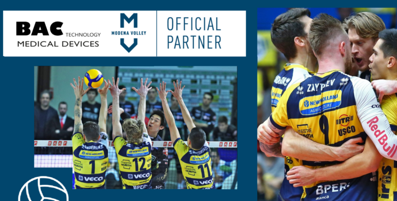 BAC Technology is official partner of Modena Volley