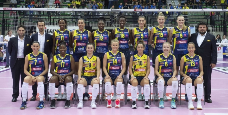 BAC Technology Official Supplier dell'Imoco Volley