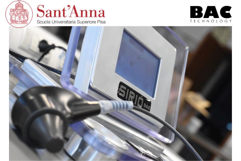 Il team di ricerca della Scuola Superiore Sant'Anna prosegue l'attività con gli ultrasuoni BAC Technology